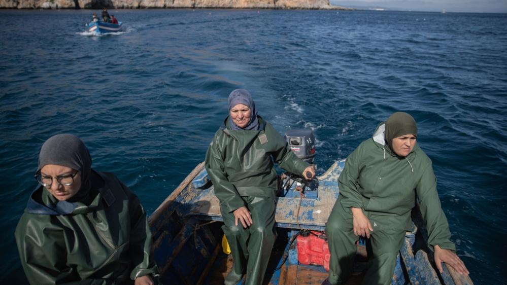 In Pictures: The Moroccan fisherwomen