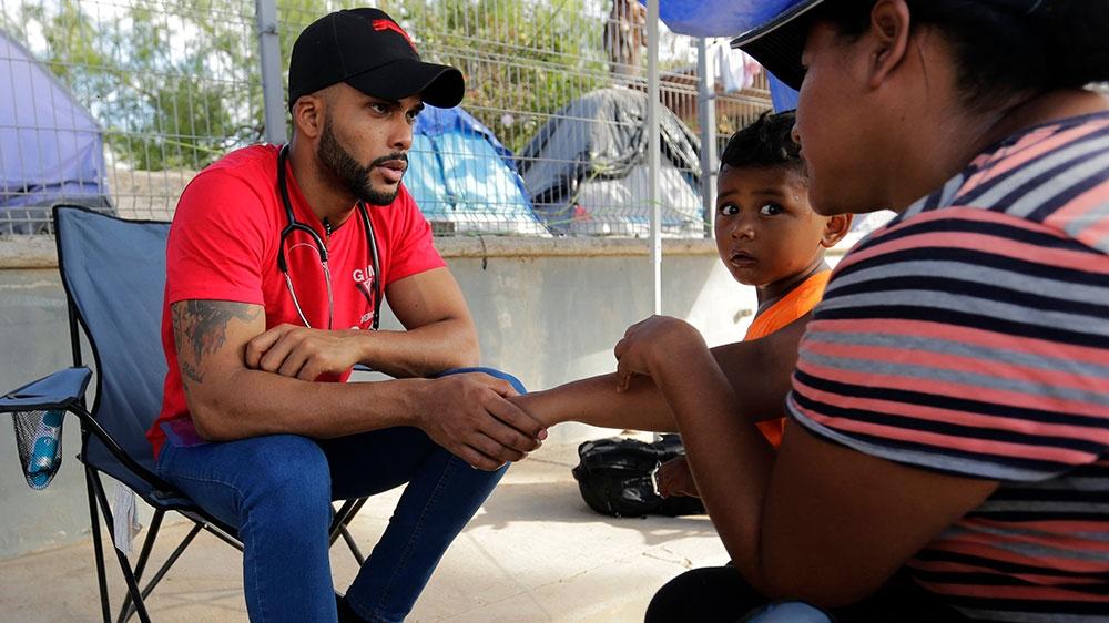 Asylum seeker doctor prepares for coronavirus on US-Mexico border thumbnail
