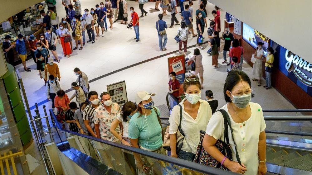 Thailand malls
