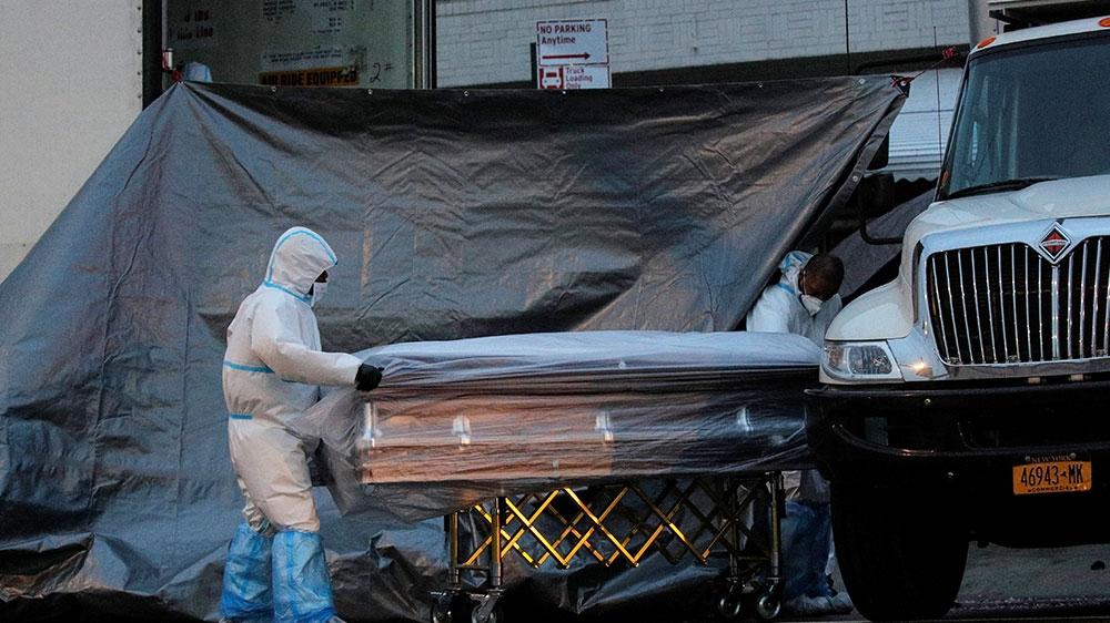 US coronavirus death toll exceeds 90,000 as Trump urges reopening