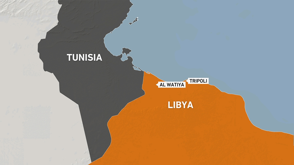 al Watiya air base Libya