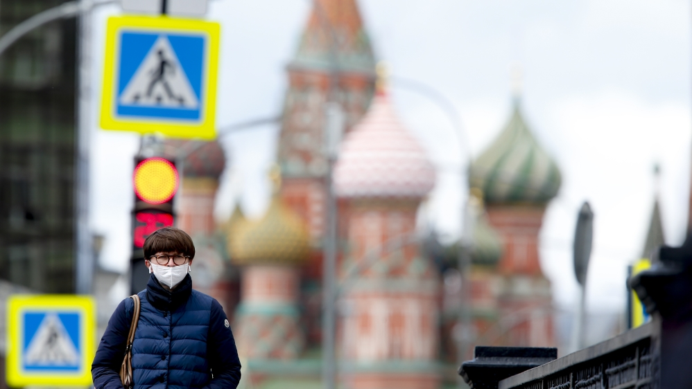 Coronavirus cases in Russia exceed 300 thousands