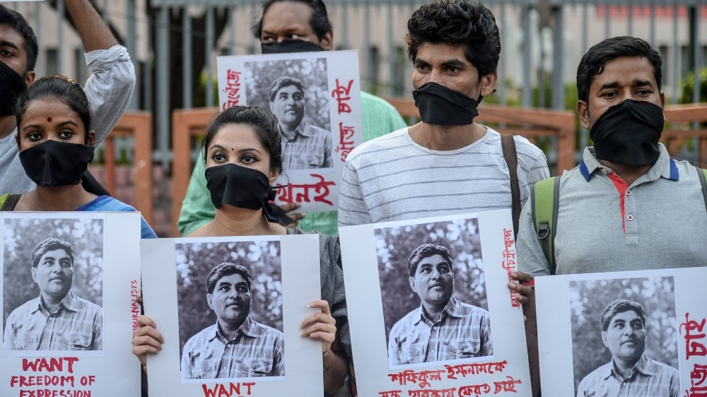 Bangladesh using controversial law to 'gag media, free speech'