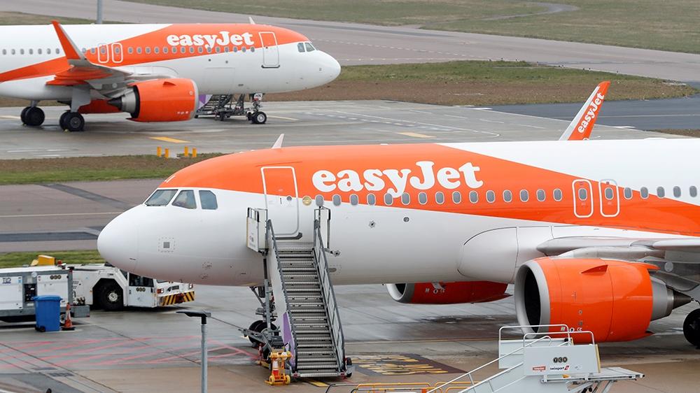 EasyJet entry