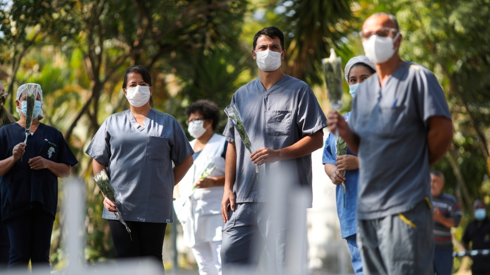 The spread of the coronavirus disease (COVID-19) in Sao Paulo