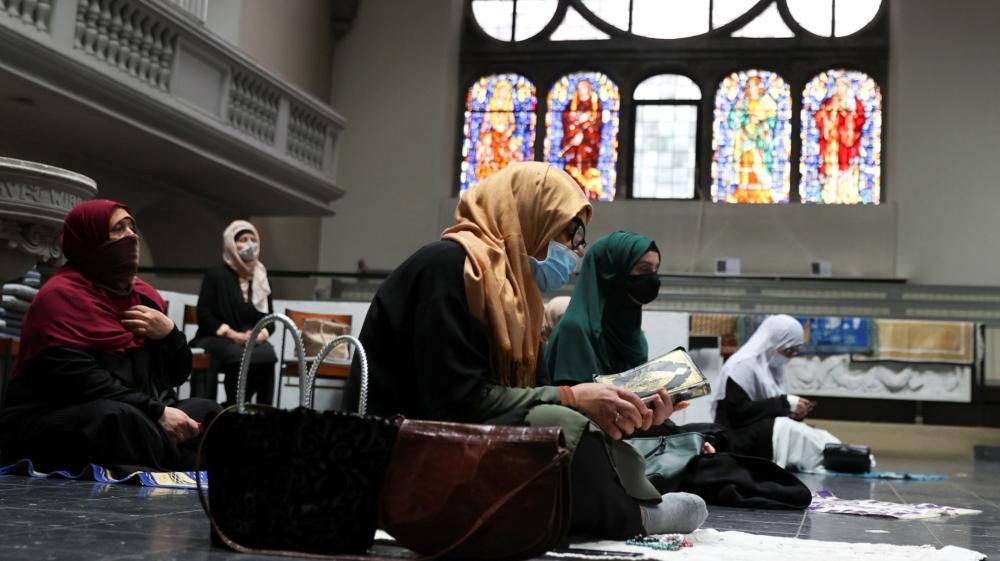Berlin Church Muslim Prayer