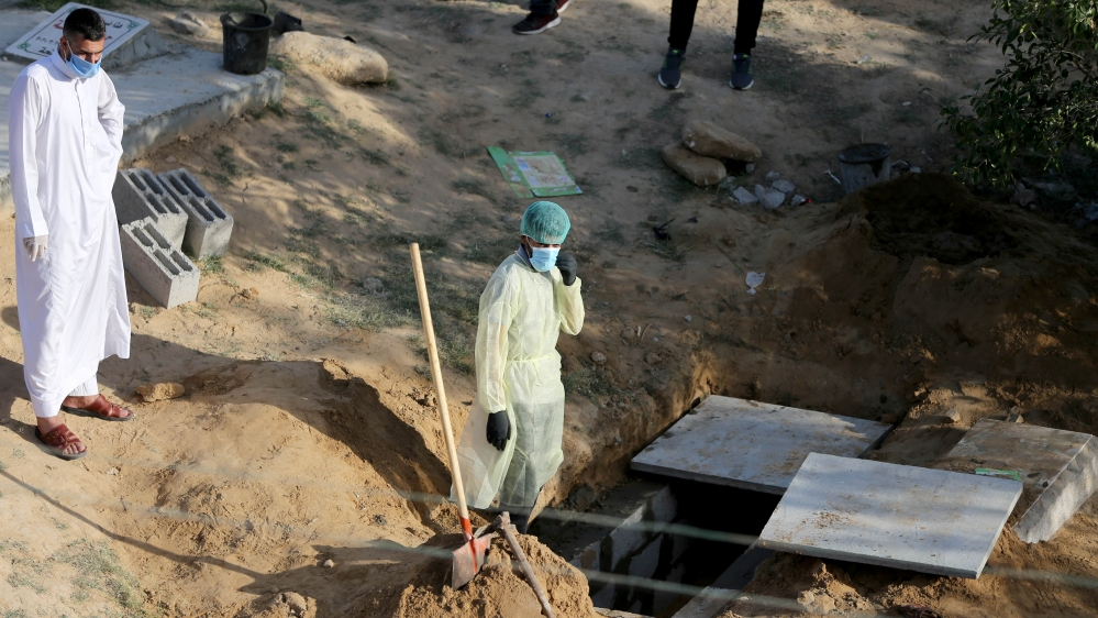 Gaza reports first COVID-19 death amid outbreak fears