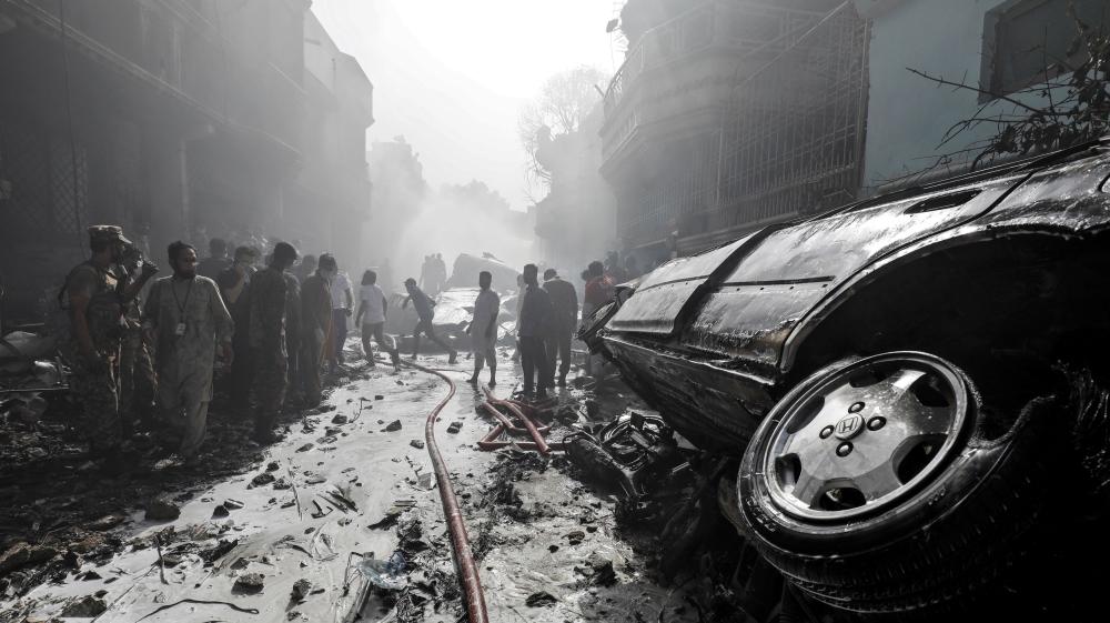 Karachi plane crash: Black box recovered, says airline thumbnail