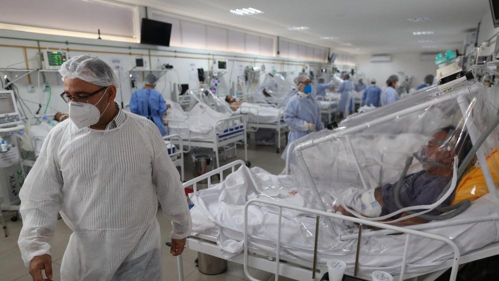 Brazil has world's second-highest coronavirus cases: Live updates