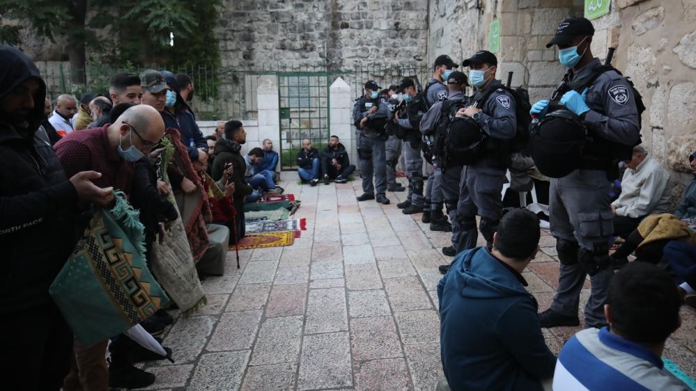 Eid al-Fitr prayer in Jerusalem