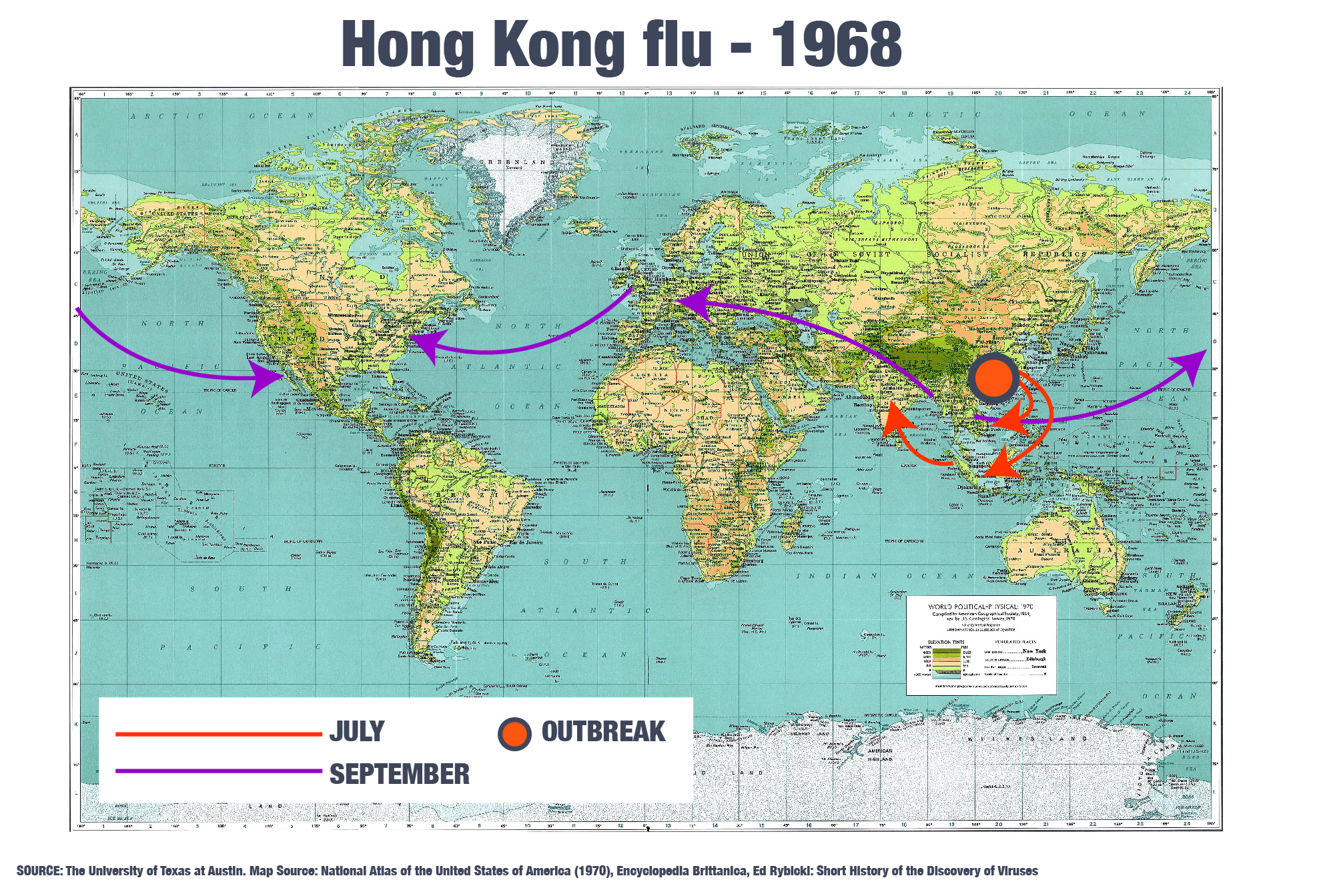 DO NOT USE: INTERACTIVE: Hong Kong flu 1968 map