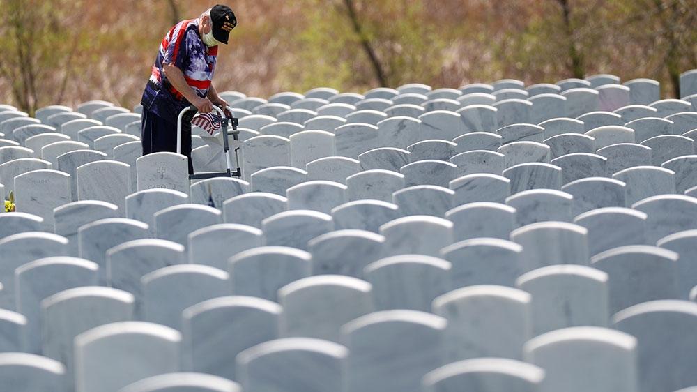 US marks quiet Memorial Day as coronavirus deaths near 100,000 thumbnail