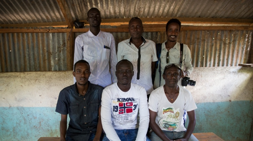 A picture of the KANERE team from 2016 (credit: Qabaata Boru)