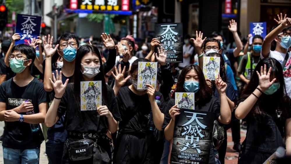 Hong Kong: Why China's national anthem bill is so controversial thumbnail