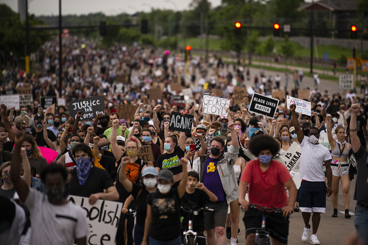Protesters Fill The Streets