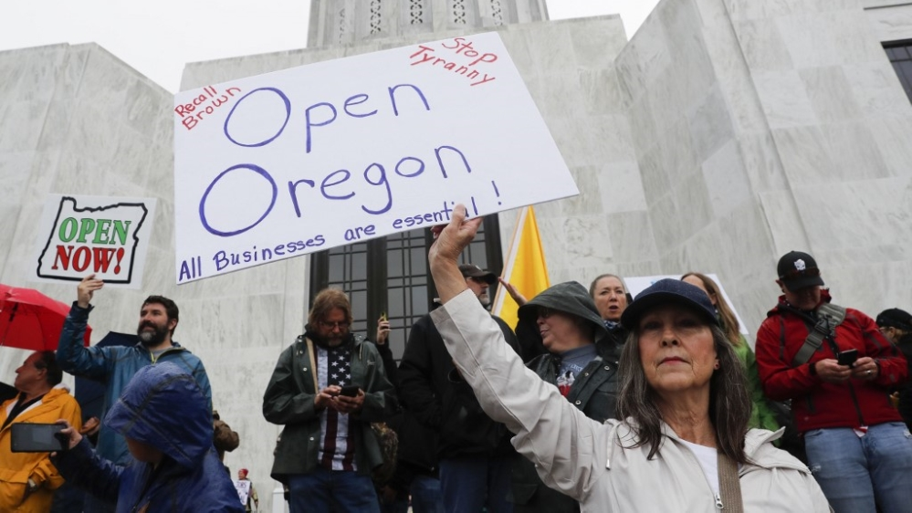 Oregon protest