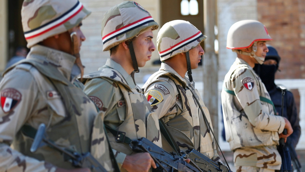 Egypt says 21 fighters killed during raids in Sinai thumbnail