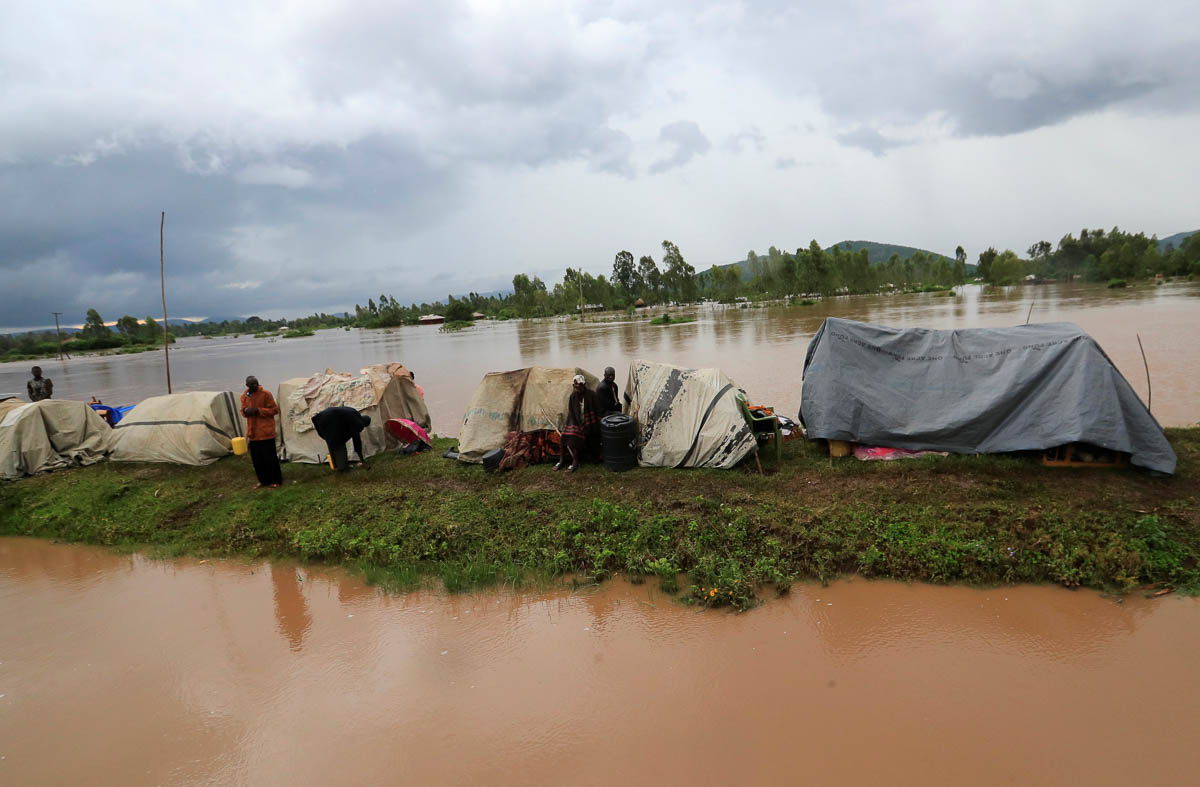 Recent floods have killed at least 116 people across 29 counties, according to the authorities. [Thomas Mukoya/Reuters]