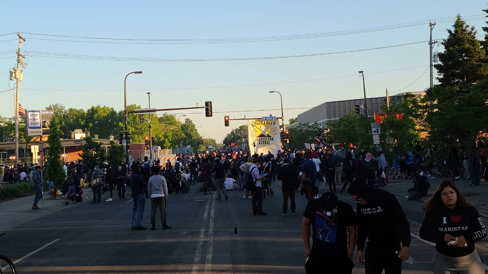 Us Protests - Minneapolis