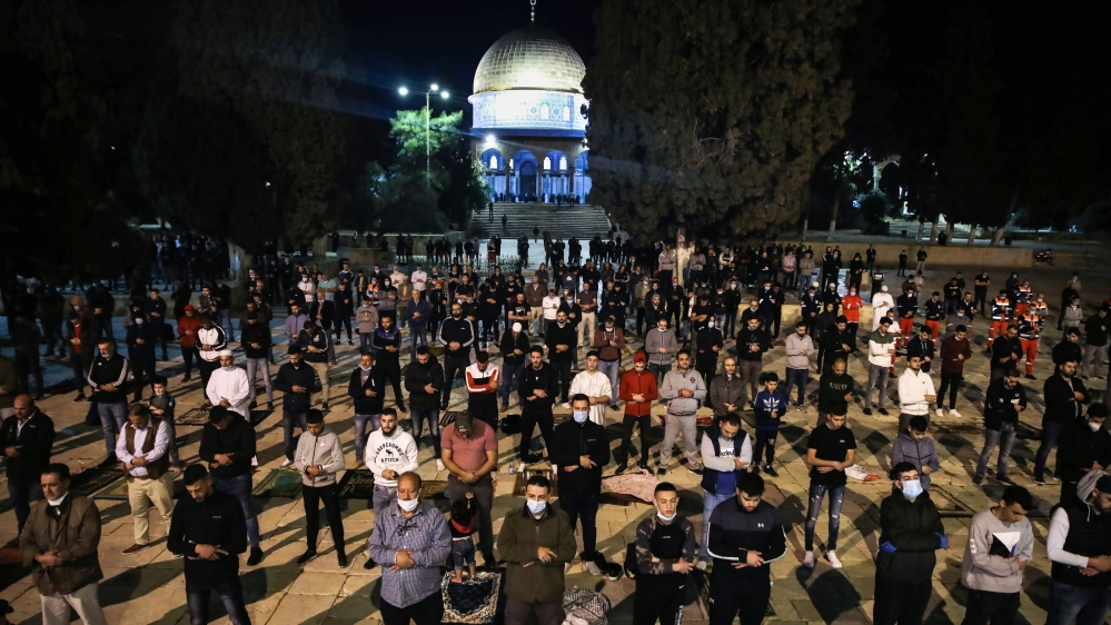 Coronavirus: Al-Aqsa Mosque reopens after more than 2 months thumbnail
