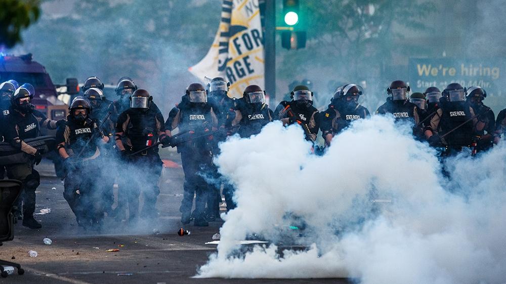 George Floyd: US protests over police brutality intensify - Live - Al Jazeera English
