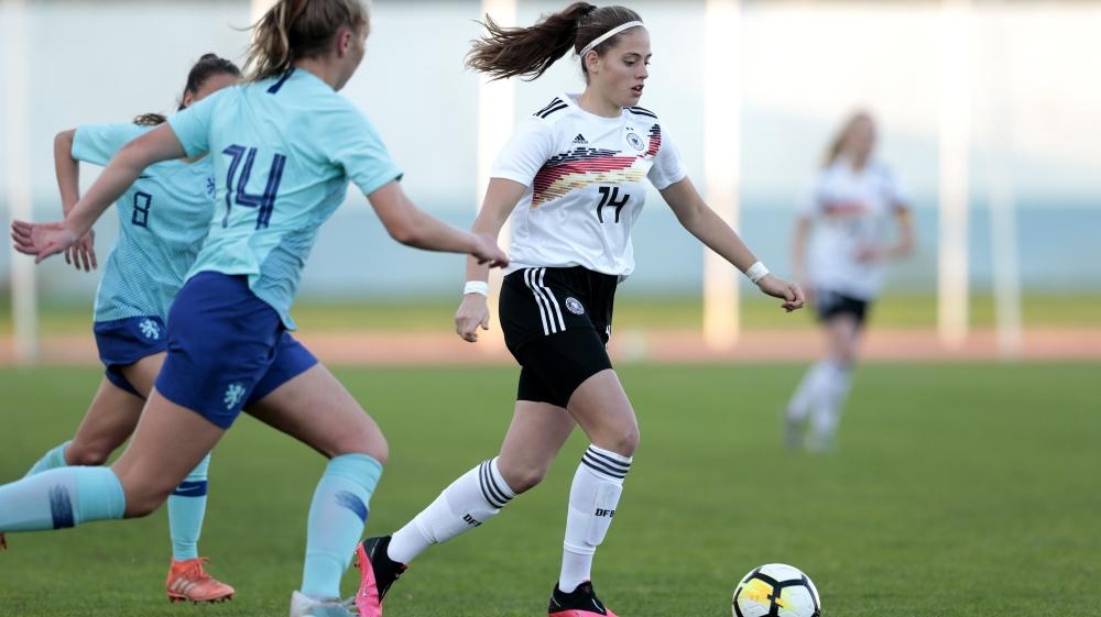 U16 Girls Germany v U16 Girls Netherlands - UEFA Development Tournament