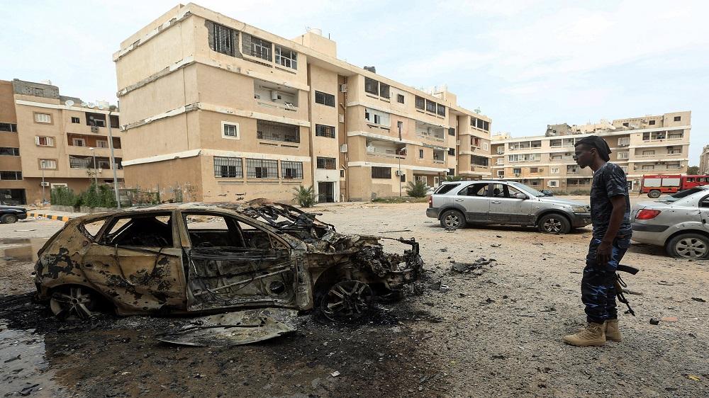 Libya: Tripoli sustains massive rocket attack; planes ablaze thumbnail