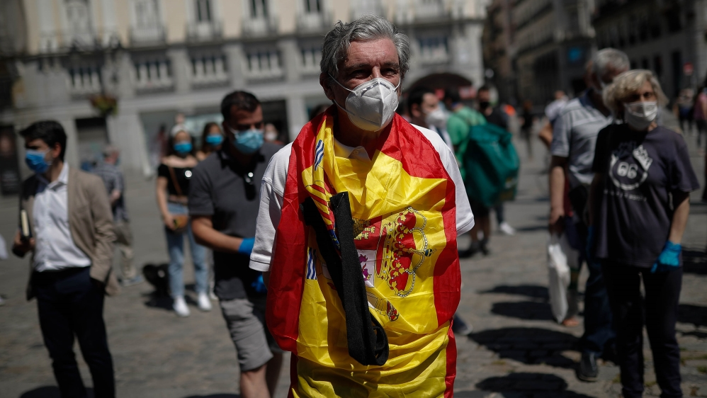 Coronavirus precautions in Spain