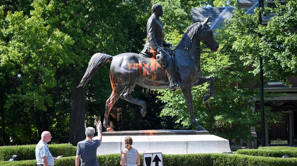 John B Castleman statue, Louisville, Kentucky