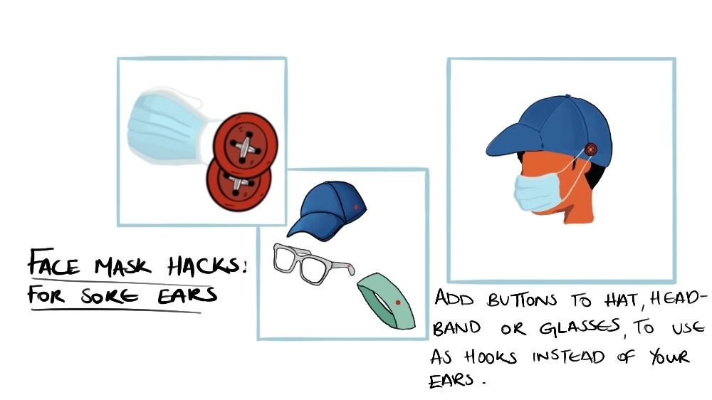 Face mask hacks 1