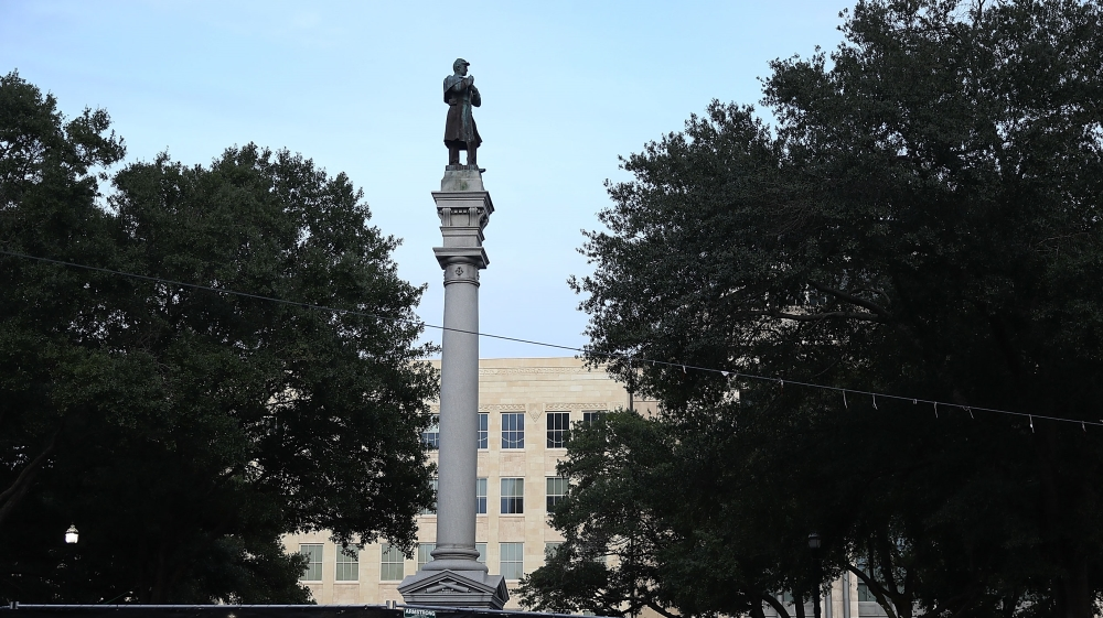Confedarate monument in Jacksonville,