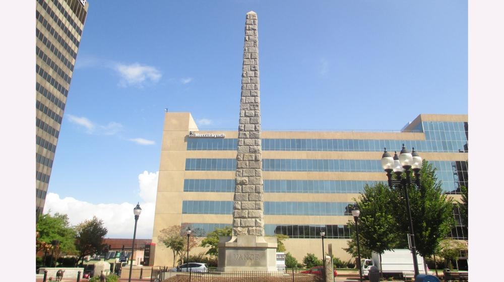 Zebulon Baird Vance monument, Asheville, North Carolina