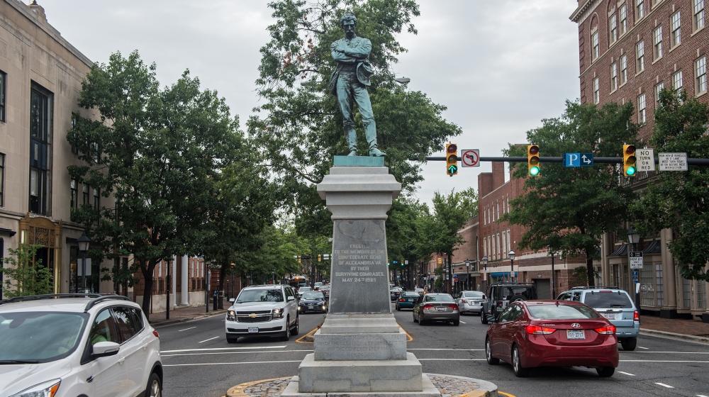 Appomattox statue, Alexandria, Virginia