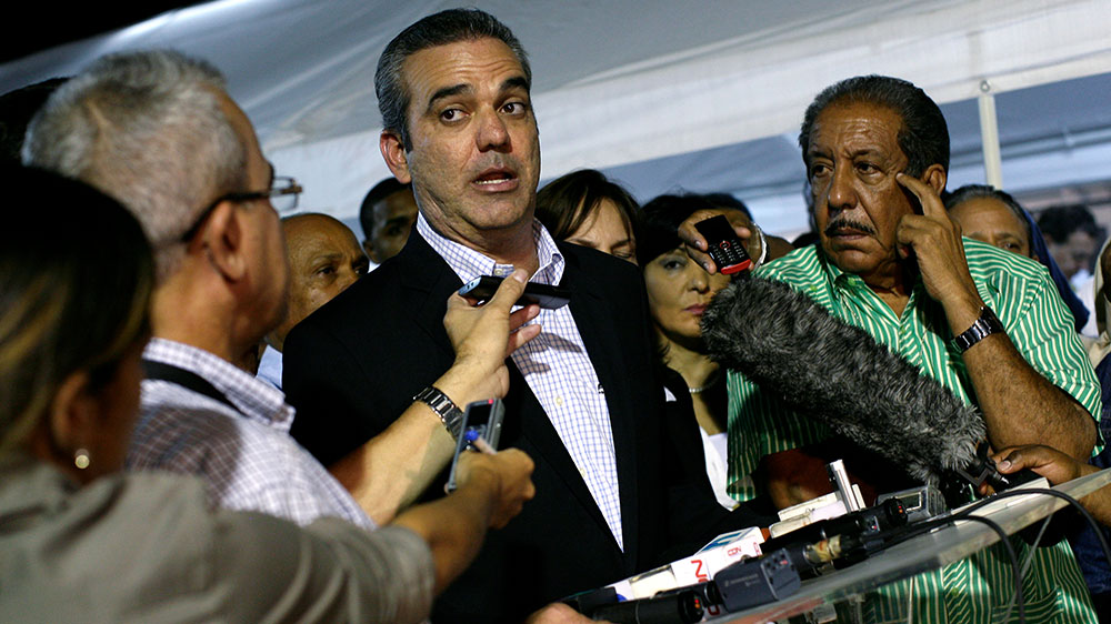 Luis Abinader presidential election