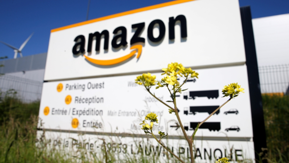 Amazon logistics center in Lauwin-Planque