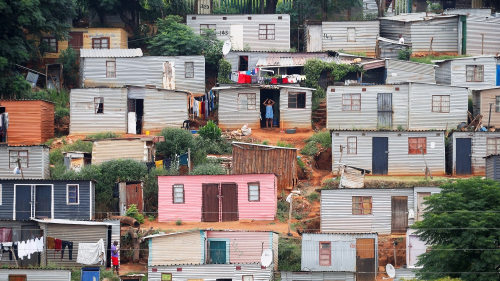 A general view of shacks during a nationwide 21 day lockdown in an attempt to contain the coronavirus disease (COVID-19) outbreak in Umlazi township near Durban