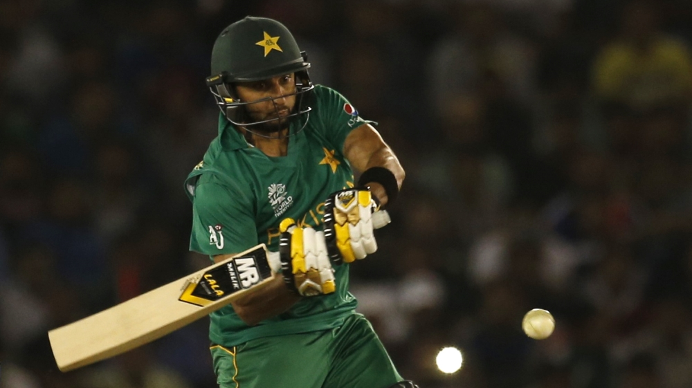 Cricket - New Zealand v Pakistan - World Twenty20 cricket tournament