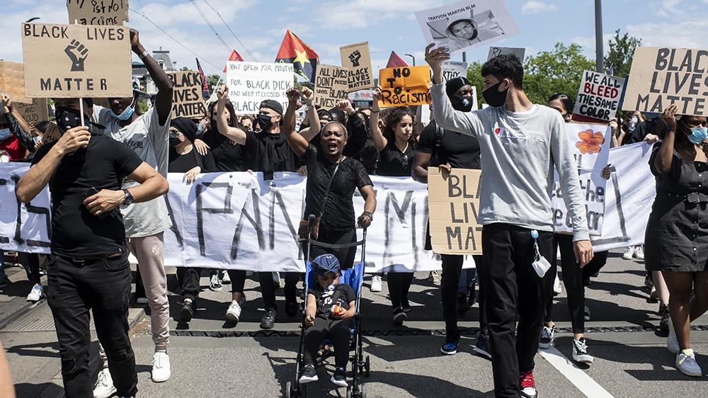 Black Lives Matter - Zurich protest blog entry