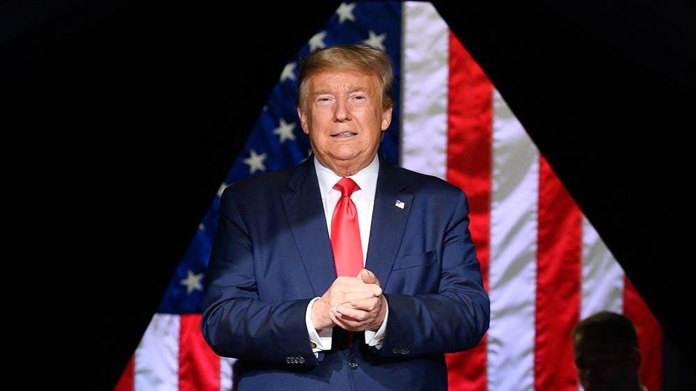 Trump rally amid coronavirus spread deemed 'dangerous': Live thumbnail