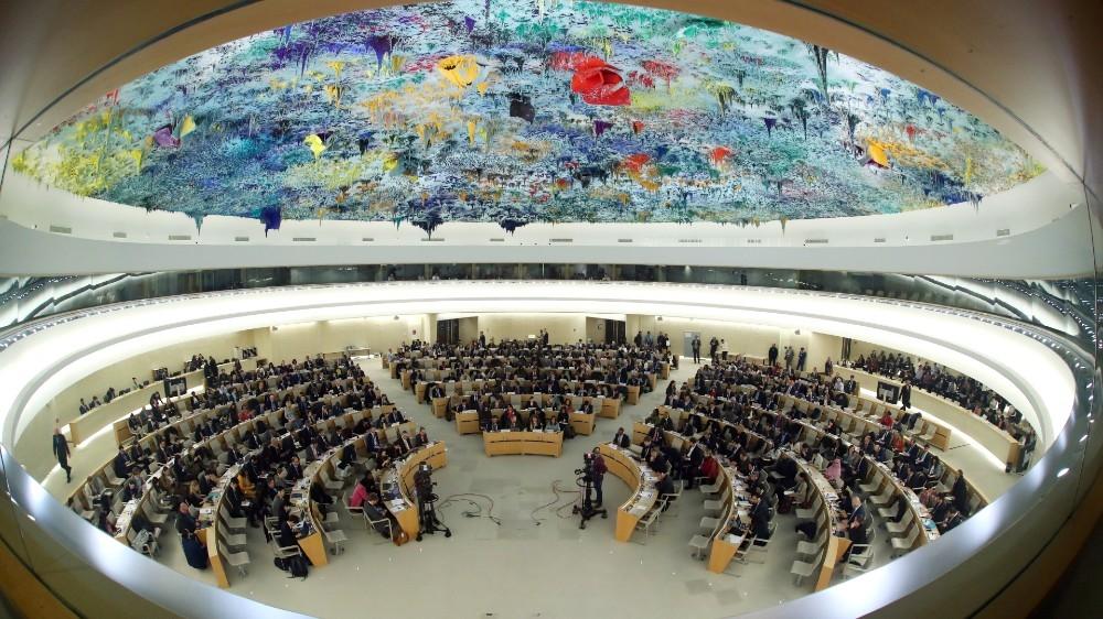 UN Human Rights Council session in Geneva