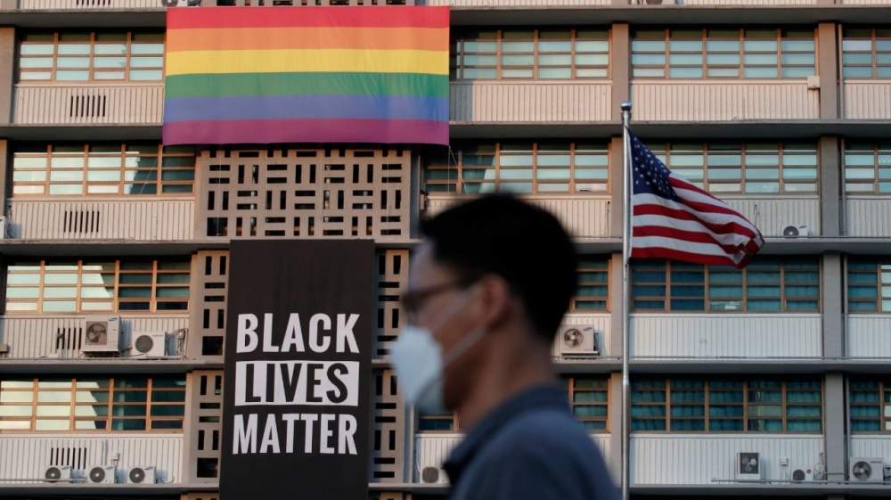 Black Lives Matter - Gay Pride