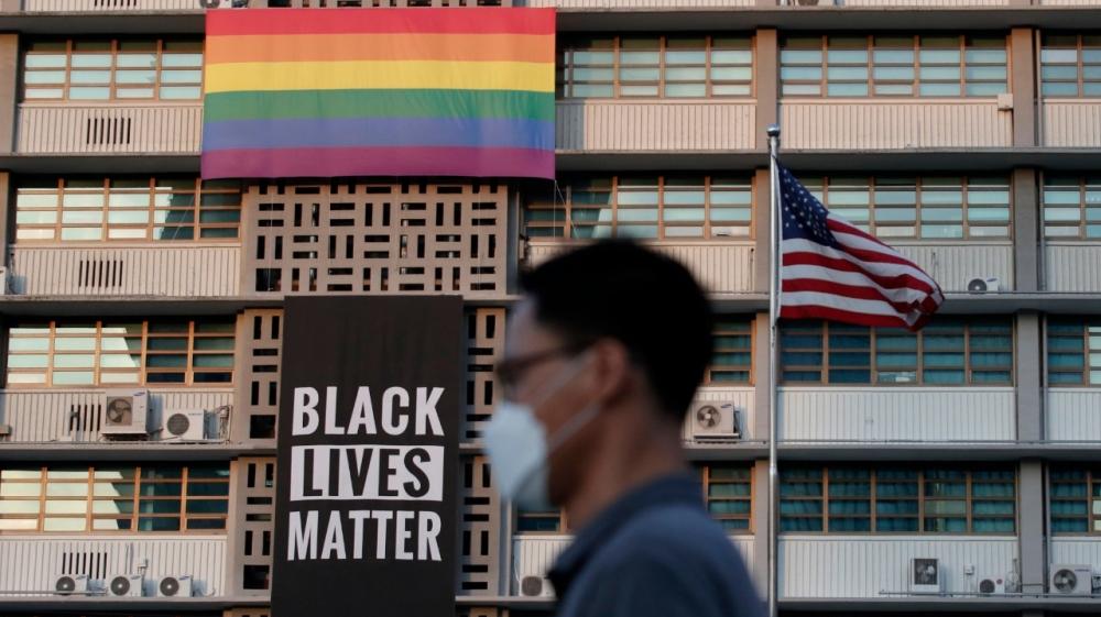 Black Lives Matter - Gay Pride