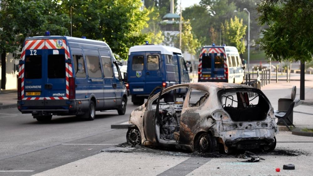 France Dijon unrest
