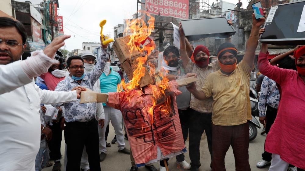 Hindistan protestosu