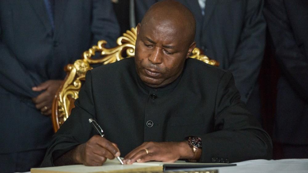 Ndayishimiye sworn in as Burundi's new president thumbnail