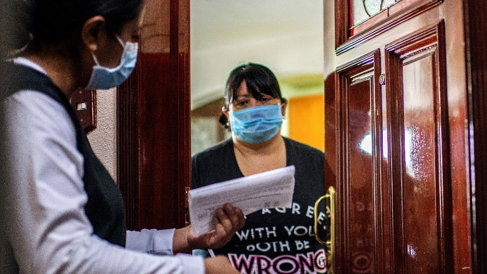 Mexico coronavirus health brigade