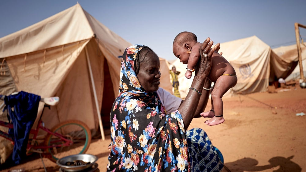 Mali displaced