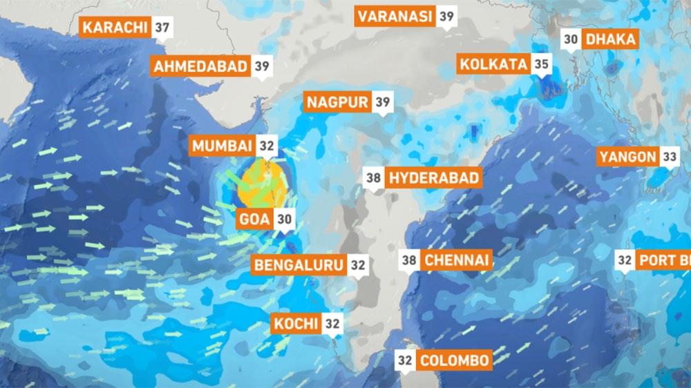 Cyclone Nisarga: India metropolis of Mumbai braces for rare storm thumbnail