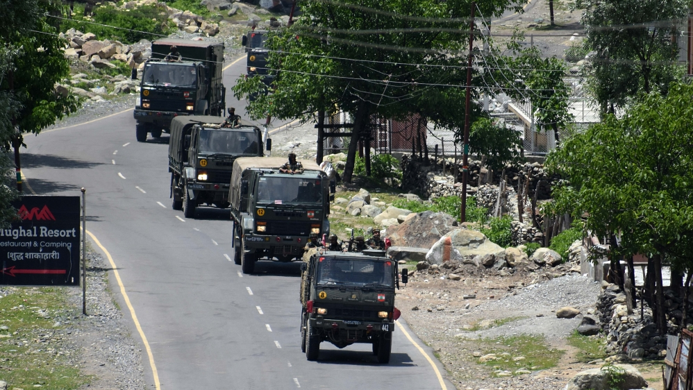 20 Indian soldiers killed in India-China face-off