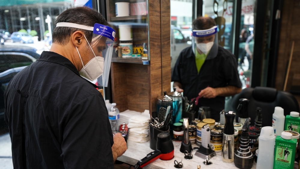 Barbershops and hair salons reopening in NYC